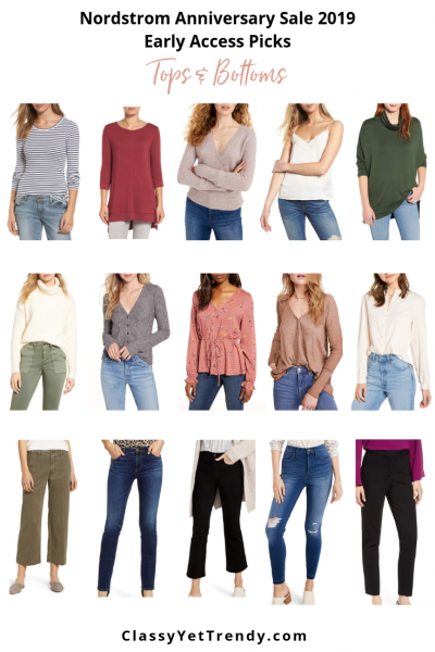 TOPS AND BOTTOMS - Nordstrom Anniversary Sale 2019 Early Access