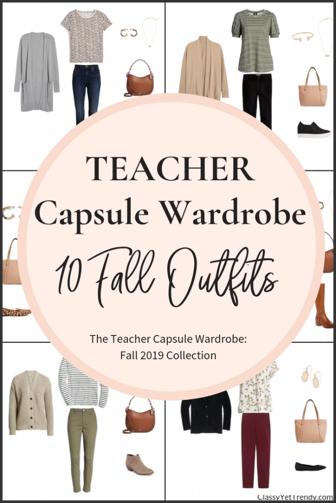 Teacher-Capsule-Wardrobe-10-Outfits-Fall-2019