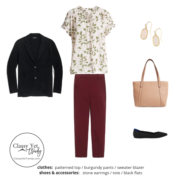 The Teacher Capsule Wardrobe - Fall 2019 - outfit 88