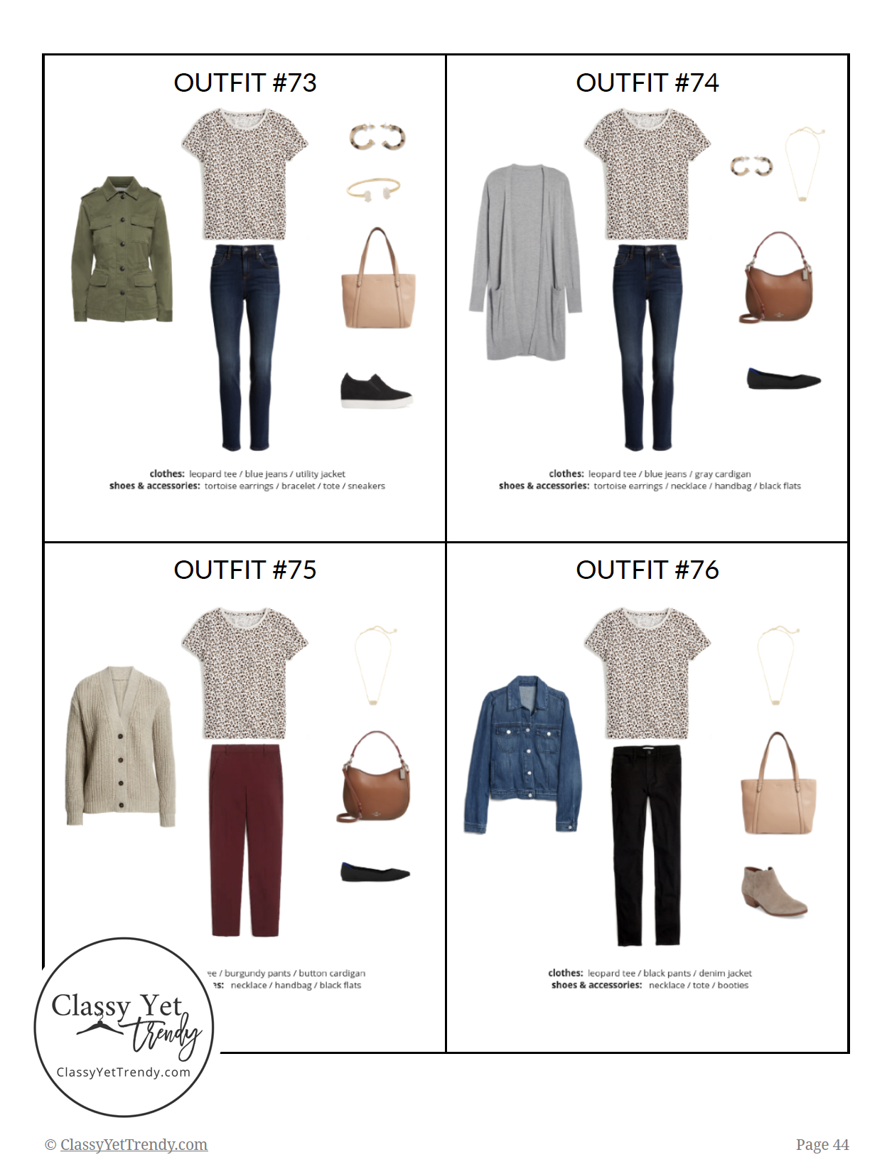 The Teacher Capsule Wardrobe - Fall 2019 - pg44