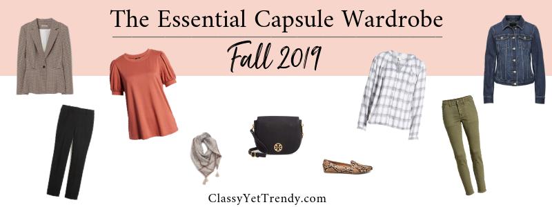 BANNER 800X300 - The Essential Capsule Wardrobe - Fall 2019