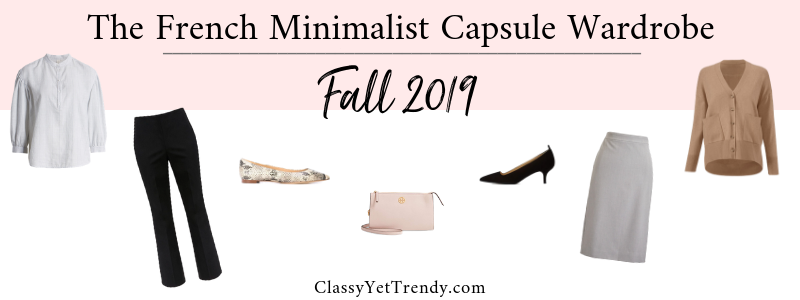 BANNER 800X300 - The French Minimalist Capsule Wardrobe - Fall 2019