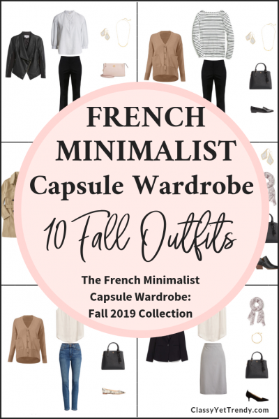 French Minimalist Capsule Wardrobe Fall 2019 Preview + 10 Outfits
