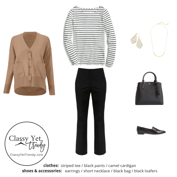 French Minimalist Capsule Wardrobe Fall 2019 - outfit 28