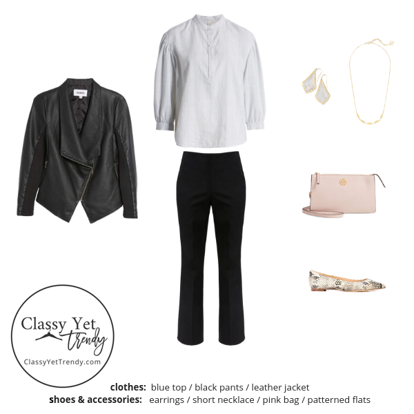 French Minimalist Capsule Wardrobe Fall 2019 - outfit 42