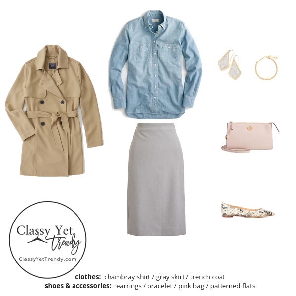 French Minimalist Capsule Wardrobe Fall 2019 - outfit 58