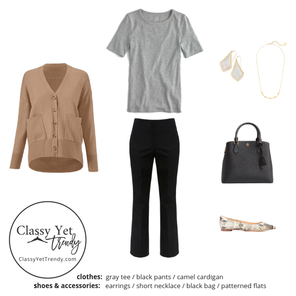 French Minimalist Capsule Wardrobe Fall 2019 - outfit 68