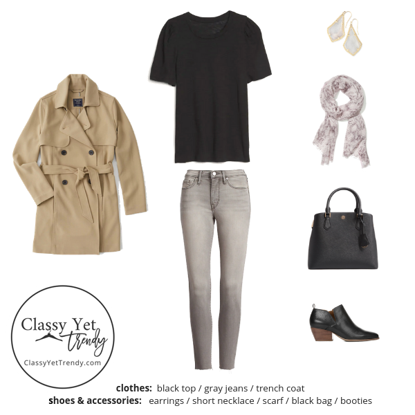 French Minimalist Capsule Wardrobe Fall 2019 - outfit 9
