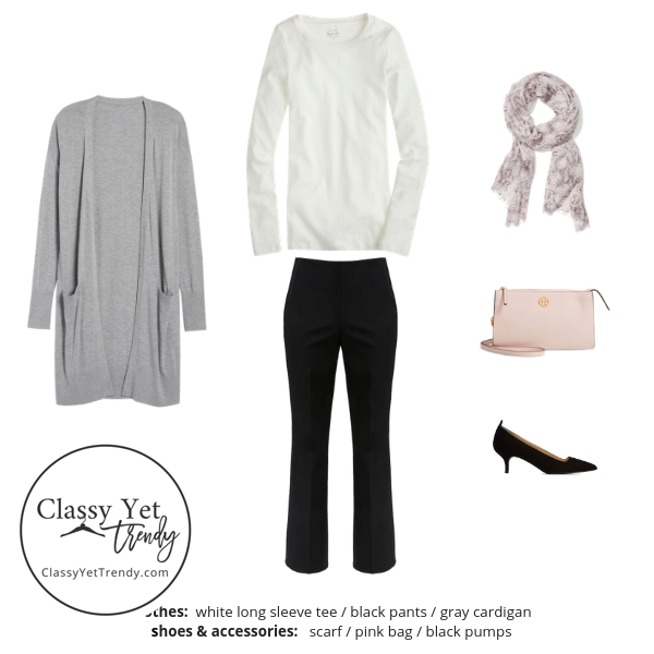 French Minimalist Capsule Wardrobe Fall 2019 - outfit 95