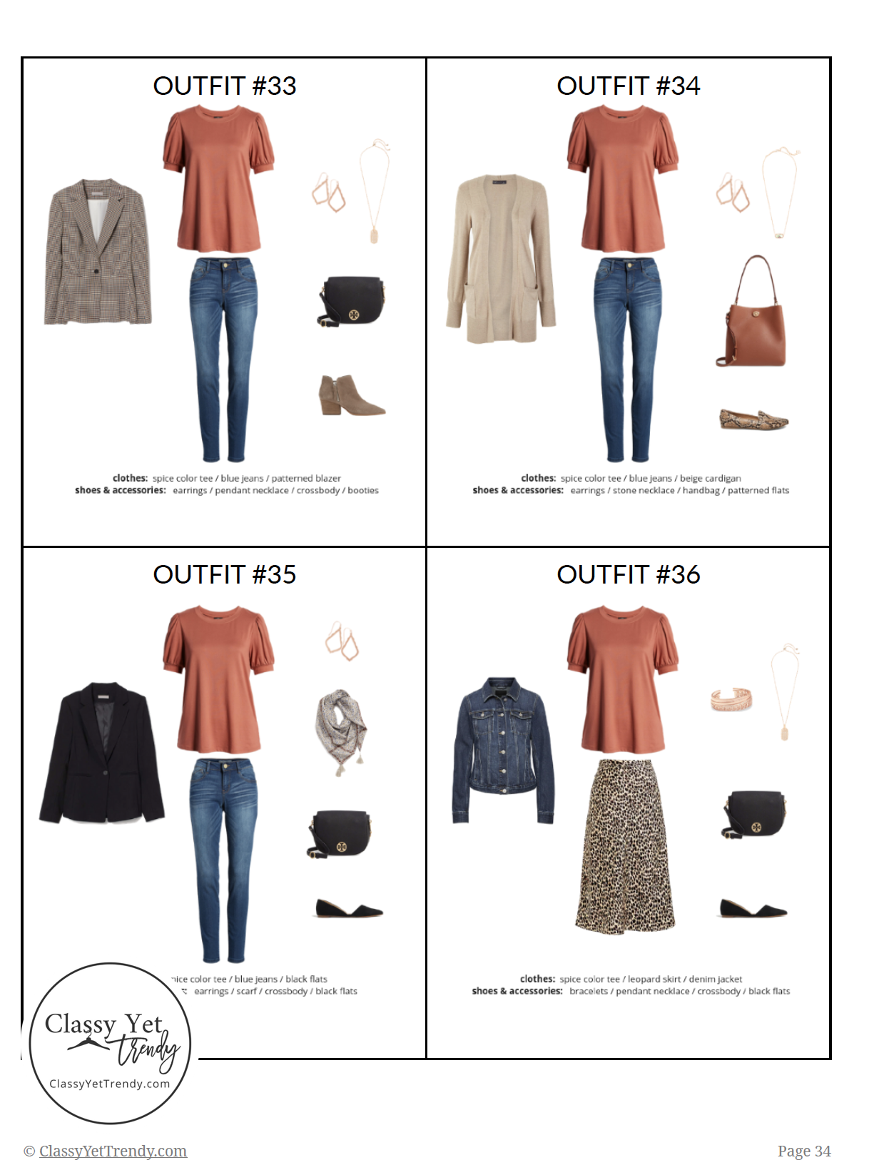 The Essential Capsule Wardrobe Fall 2019 - pg34