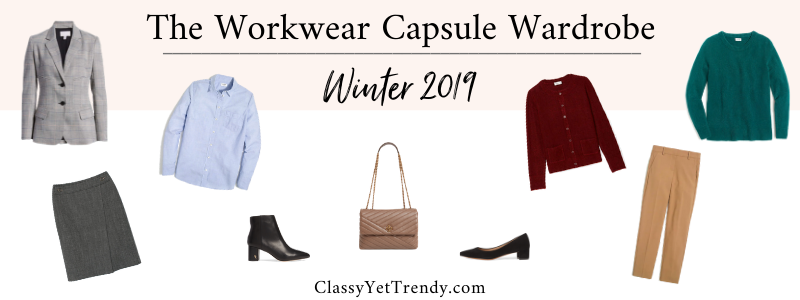 BANNER 800X300 - The Workwear Capsule Wardrobe - Winter 2019