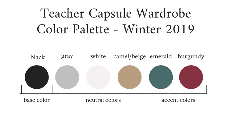 Teacher-Capsule-Wardrobe-Winter-2019-Color-Palette