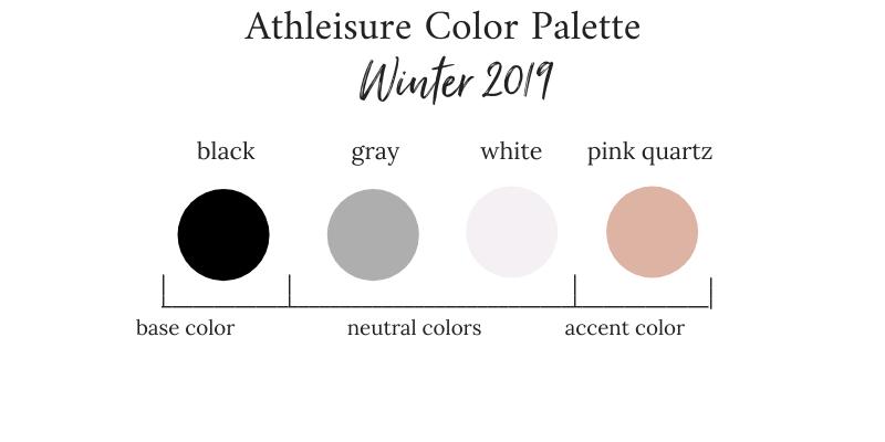 Athleisure Winter 2019 Color Palette