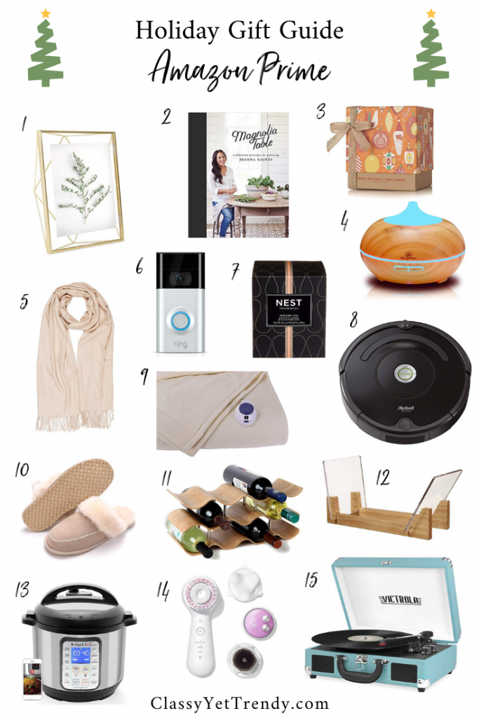 Holiday Gift Guide Amazon Prime