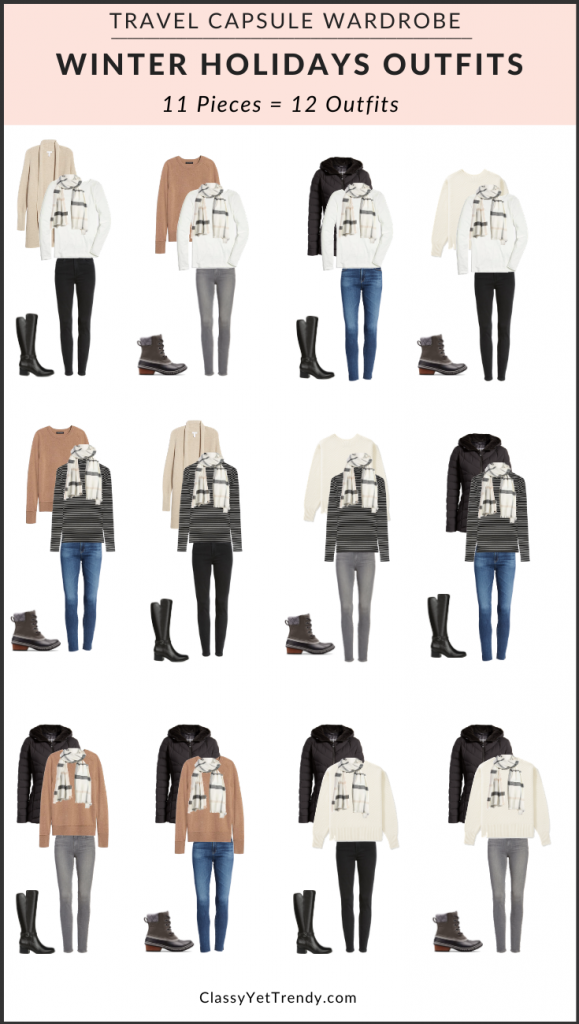 Winter-Holidays-Travel-Capsule-Wardrobe-Outfits