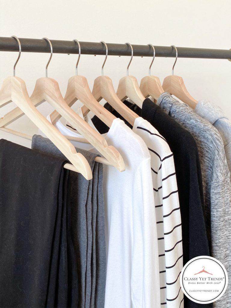 10-Athleisure-Essentials-For-Your-Closet-clothes-rack-close
