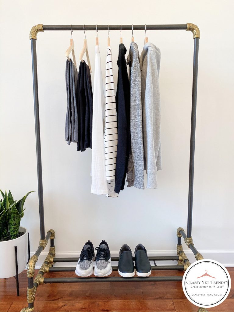 10-Athleisure-Essentials-For-Your-Closet-clothes-rack-front-1