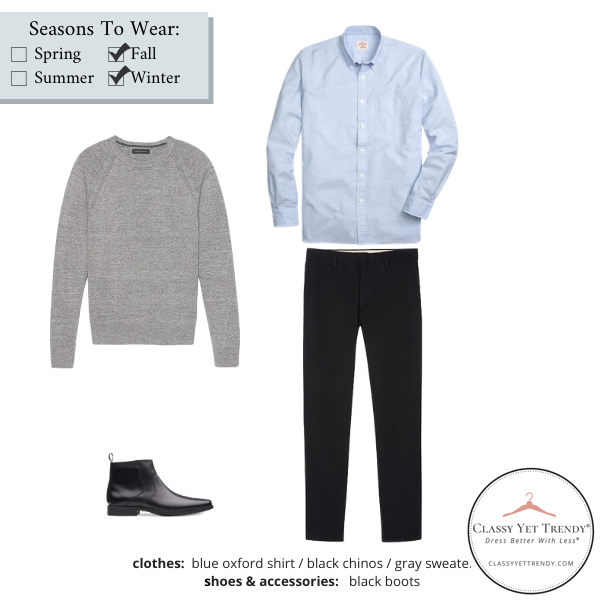 Mens-Simplified-Style-Capsule-Wardrobe-Outfit-BLUE-OXFORD-SHIRT-26