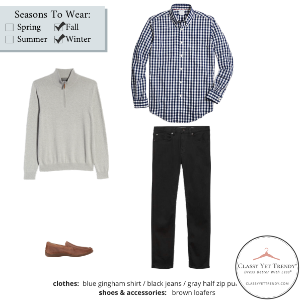Mens-Simplified-Style-Capsule-Wardrobe-Outfit-GINGHAM-SHIRT-18