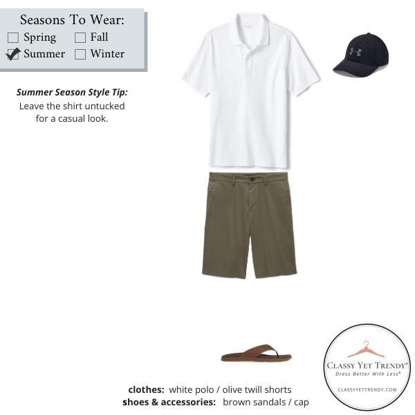 Mens-Simplified-Style-Capsule-Wardrobe-Outfit-WHITE-POLO-27