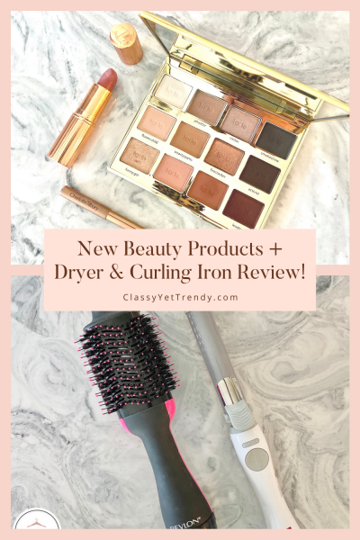 New-Beauty-Products-Dryer-and-Curling-Iron-Review