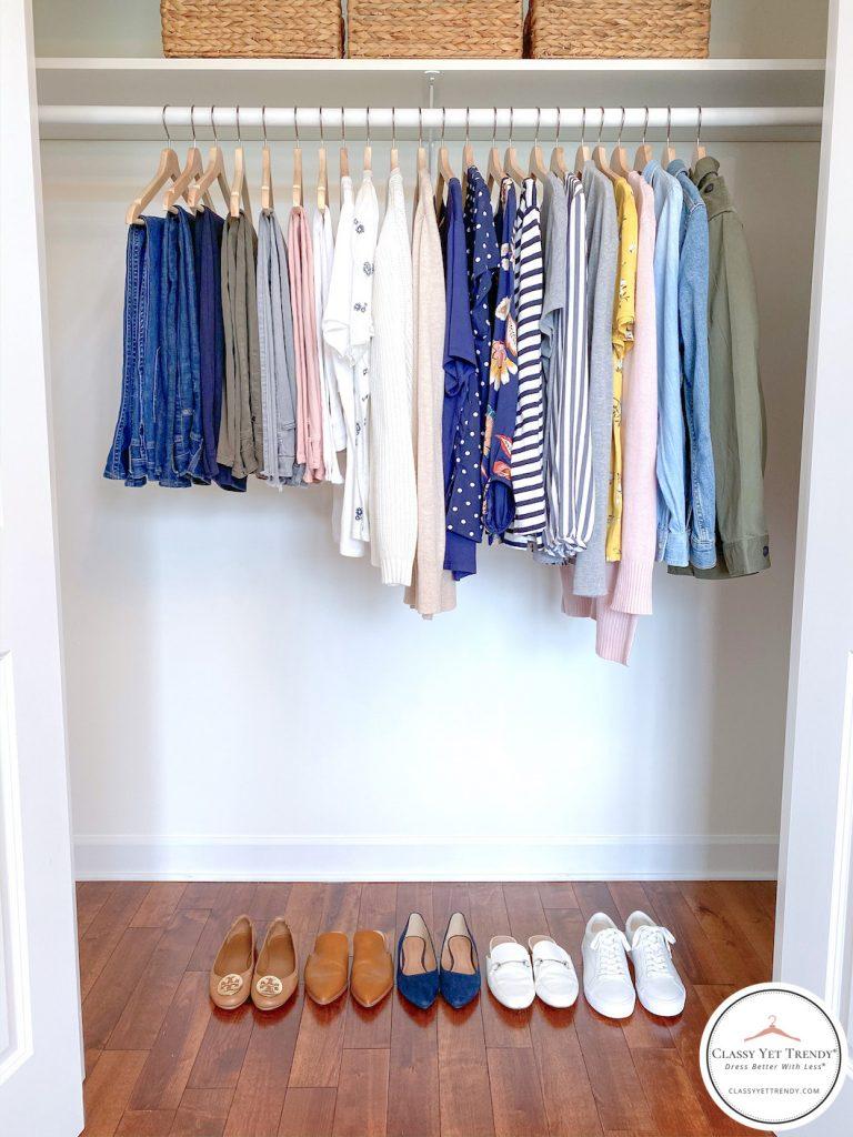 My-Spring-2020-Capsule-Wardrobe-closet-full