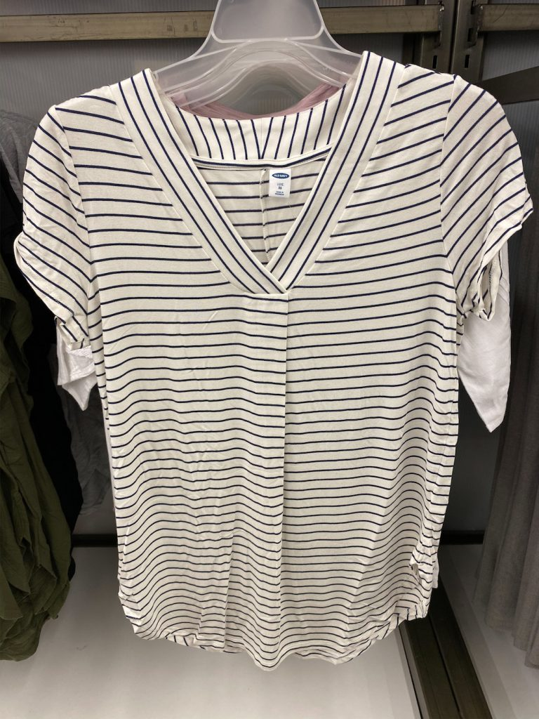 Old-Navy-Try-On-Dressing-Room-Spring-Feb-2020-striped-tunic-top