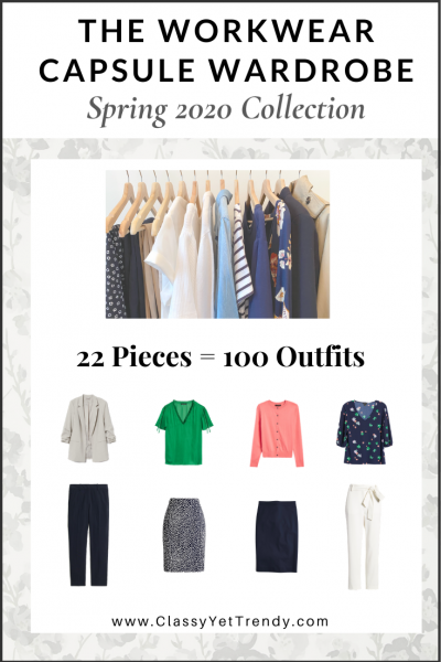 The Workwear Capsule Wardrobe: Spring 2020 Collection