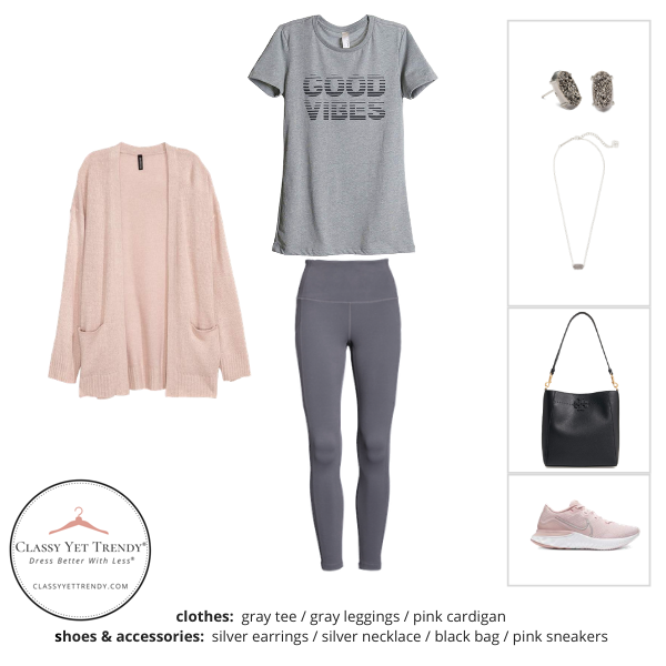 Athleisure Capsule Wardrobe Spring 2020 - outfit 30