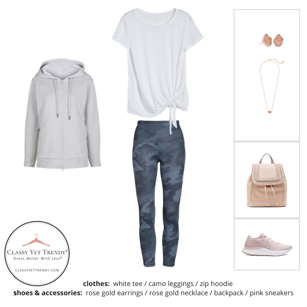 Athleisure Capsule Wardrobe Spring 2020 - outfit 92