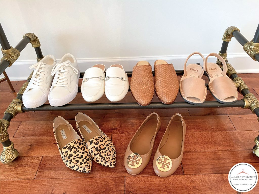 My-29-Piece-Neutral-Spring-Capsule-Wardrobe-shoes
