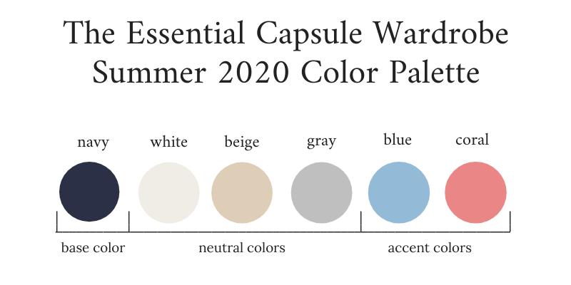 Essential-Capsule-Wardrobe-Summer-2020-Color-Palette