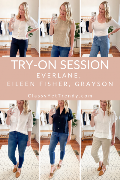 Everlane-Eileen-Fisher-Grayson-Try-On-Session