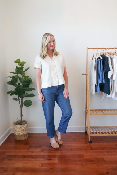 Everlane-Linen-Notch-Shirt-Cheeky-Straight-Jeans-1