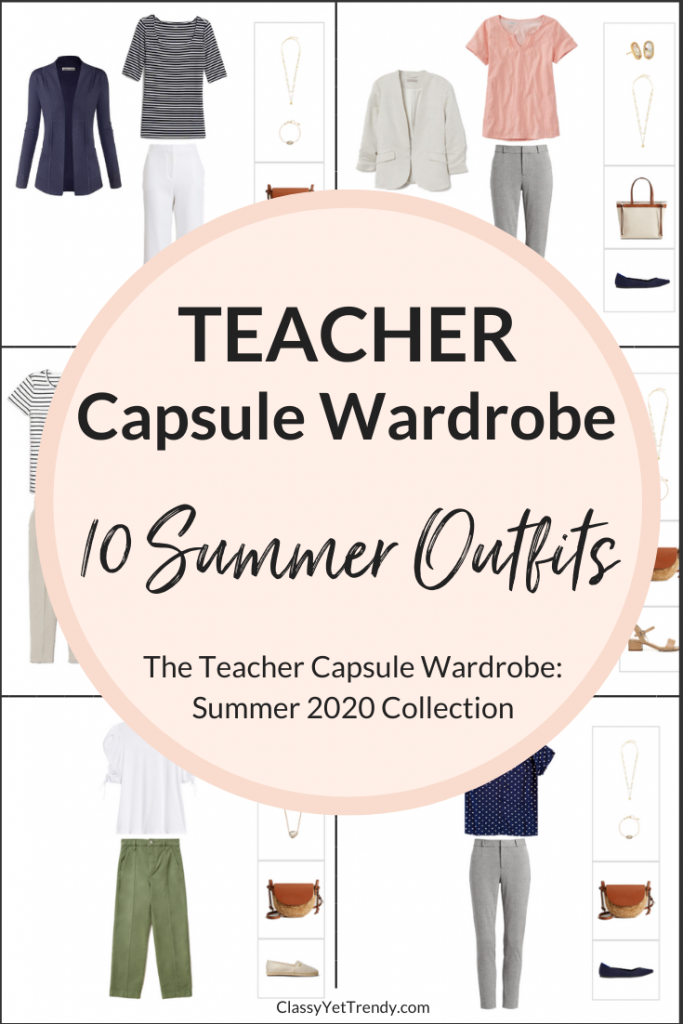 Teacher-Capsule-Wardrobe-10-Outfits-Summer-2020-Preview