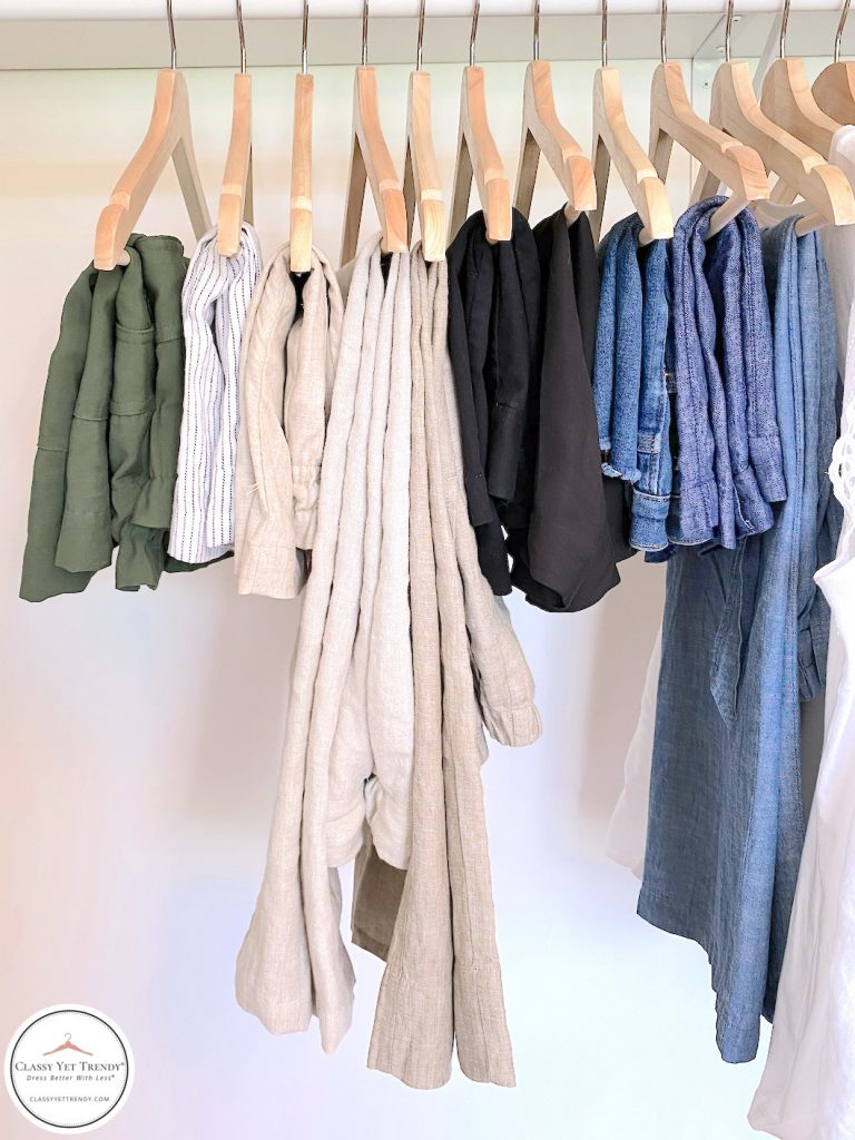 32 Piece Summer 2020 Capsule Wardrobe - bottoms