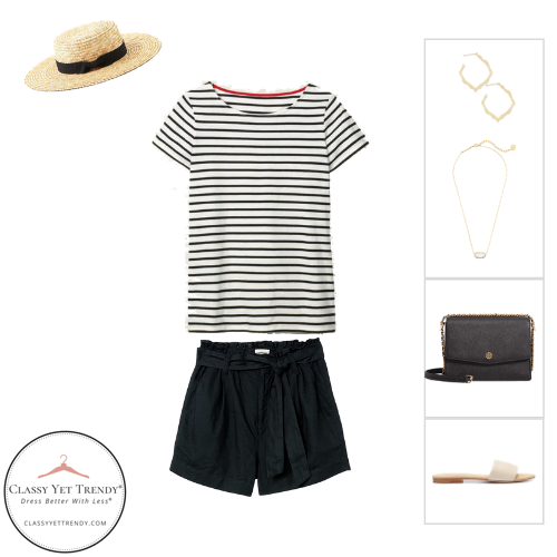 French Minimalist Capsule Wardrobe Summer 2020 - outfit 28
