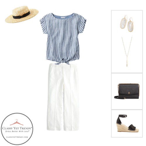 French Minimalist Capsule Wardrobe Summer 2020 - outfit 43