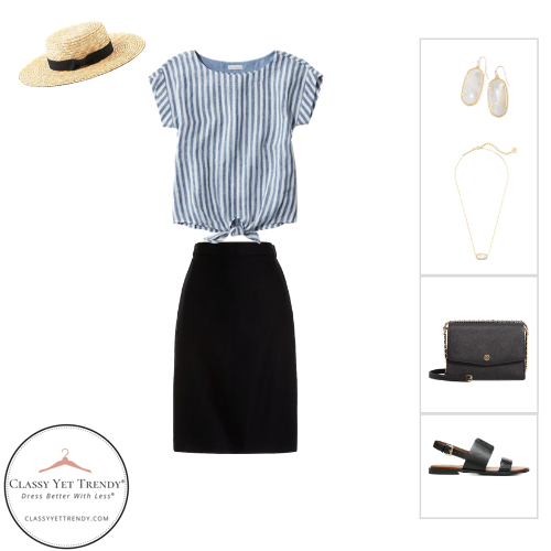 French Minimalist Capsule Wardrobe Summer 2020 - outfit 49
