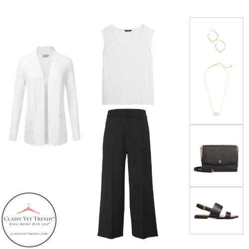 French Minimalist Capsule Wardrobe Summer 2020 - outfit 58