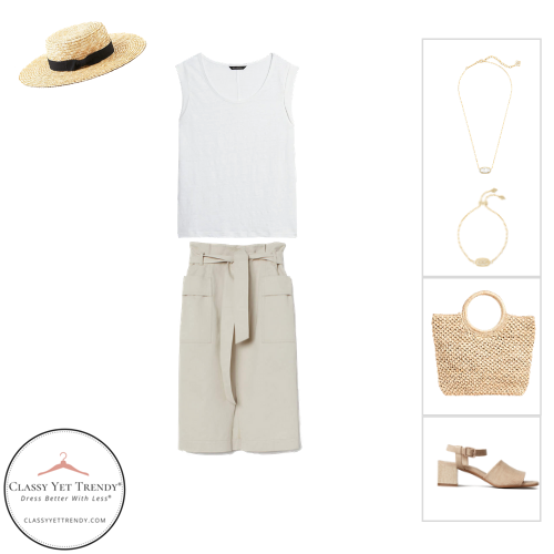 French Minimalist Capsule Wardrobe Summer 2020 - outfit 59