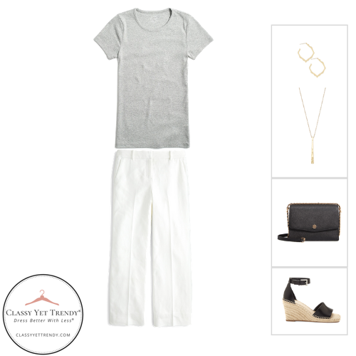 French Minimalist Capsule Wardrobe Summer 2020 - outfit 70