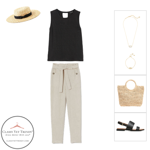 French Minimalist Capsule Wardrobe Summer 2020 - outfit 85