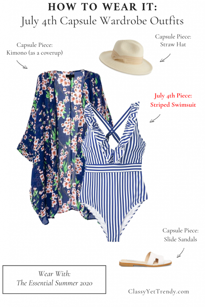 How To Wear It - July 4th Capsule Wardrobe Outfits Essential
