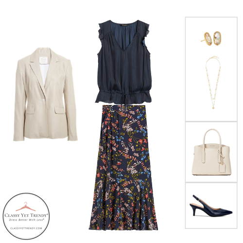 Workwear Capsule Wardrobe Summer 2020 - outfit 16