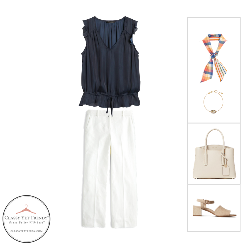 Workwear Capsule Wardrobe Summer 2020 - outfit 18