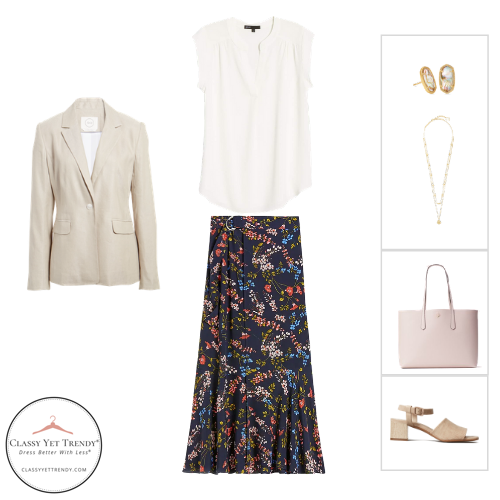 Workwear Capsule Wardrobe Summer 2020 - outfit 27