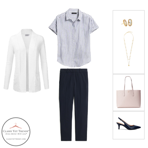 Workwear Capsule Wardrobe Summer 2020 - outfit 40