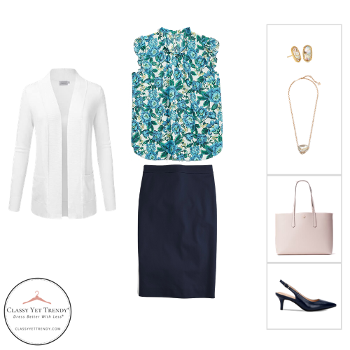 Workwear Capsule Wardrobe Summer 2020 - outfit 46