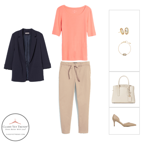 Workwear Capsule Wardrobe Summer 2020 - outfit 65